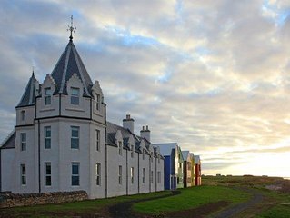 Stylish double room with private bathroom within the iconic Inn at John O'Groats