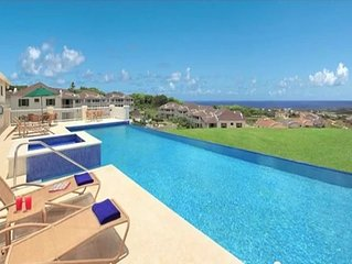 Holiday Apartment Barbados with panoramic Caribbean Sea View for Holiday Rent