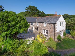 Beautiful Farmhouse With A Large Garden In A Peaceful Location, close to sea