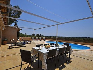 Cozy Villa with private pool for 6 people in Bunyola.