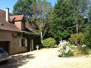 Perigourdian Style House close to Mauzac with private pool .