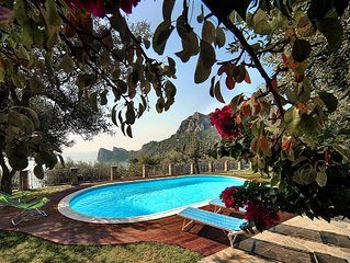 A unique villa  in a serene location with breathtaking views