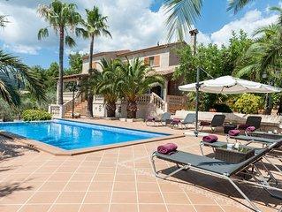 ES FREU - Villa for 8 people in Urbanitzacio de Sa Coma (Bunyola).
