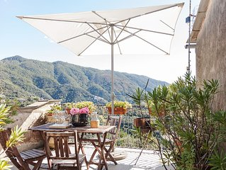 Cinque Terre-Levanto/Dosso-cosy country house 4/6p.: beaches,countryside, hiking
