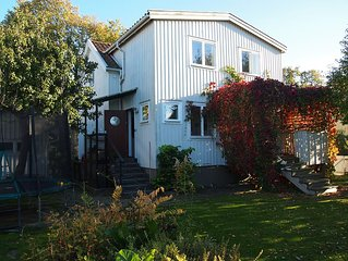 Lovely house close to Stockholm City for the big family