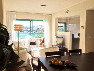 luxueus en gezellig appartement 500 meter van de zee, wifi, Netflix