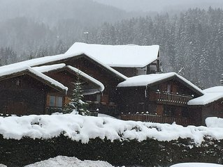 Grand Massif, Les Carroz - 2 bedroom Self Catering Chalet, 260km Skiing