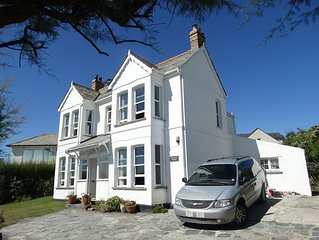 Large Family House Right By The Beach on Treyarnon Bay