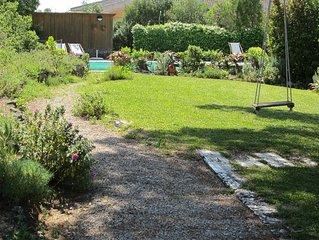 Villa&piscina&jardim, em Parque Natural, ideal famílias, perto Lisboa-praia-golf