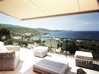 Très belle Villa vue mer piscine - 5 chambres - 10 pers