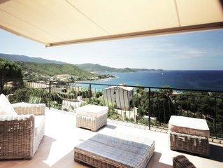 Tres belle Villa vue mer piscine - 5 chambres - 10 pers