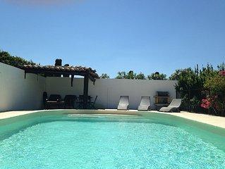 Gite renove en 2016, climatise avec piscine.