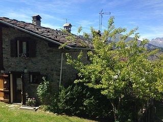 Caratteristica Casa di Montagna con Terrazza Panoramica