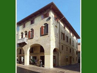 A lovely and spacious apartment in the centre of the town Treviso.