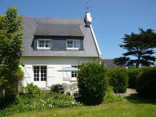 Maison tout confort avec grand jardin, tres proche de la mer