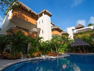 Tulum, Luxury furnished apartment, 5 minutes from the beaches