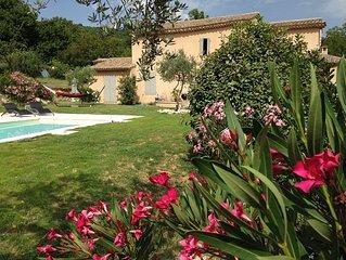 Belle demeure de caractère en Ardéche Méridionale à Saint Thomé, piscine privée