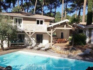 Villa Quinta **** au coeur du Golf, piscine privée, à 2 min des plages