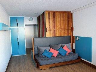 Appartement Chamrousse1750 45m² 6/7 personnes, pied des pistes et centre station