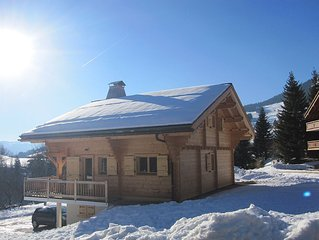 Traditional Style Chalet with Mountain Views and loads of living space -