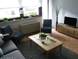 Beautiful spacious four-room apartment, with wifi, within walking distance of t