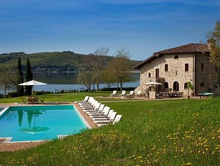 A Large 18th Century Farmhouse On 30 Acre Private Peninsula Surrounded by Water