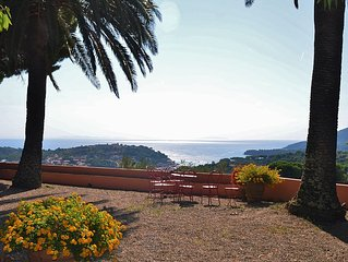 UNIQUE: XVIII century Villa with vineyard and breathtaking seaview (WI-FI)
