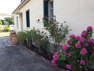 Maison (rénovée 2012) avec piscine, spa, jardin
