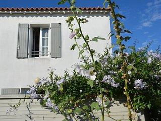 Saint-Clément-des-Baleines - agréable maison de 2 chambres