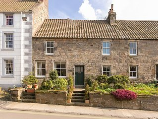Luxuriously appointed stone-built cottage, centre ancient conservation village.