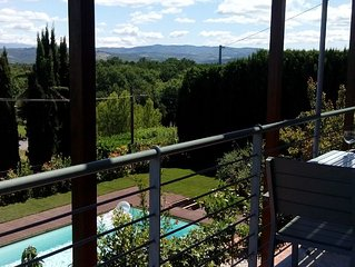 Apartment up to 6 guests, Pool, Short walk To Town, Great Views, 20 Min Florence