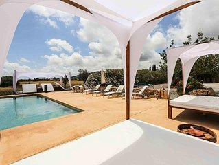 Finca Tonia, great typical ibizan style villa, immersed in the nature