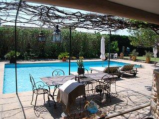 Saint Remy, Charmante Villa avec belle piscine
