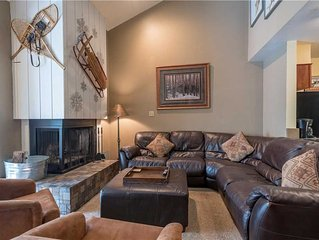 Ski-in/Out with lots of beds, comfy living room. Complimentary WiFi, parking and