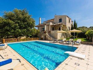 Stone Made villa in picturesque village! Private pool & full privacy!