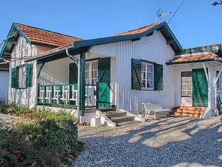 Cap Ferret, Maison bord de plage, idéale pour la famille, sports et découvertes