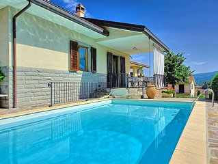 Pretty villa with private pool and gardens located within a traditional village