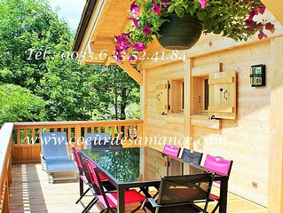 Promo! Chalet neuf **** Grand-Bornand Chinaillon 115m2 : vue degagee sur pistes,