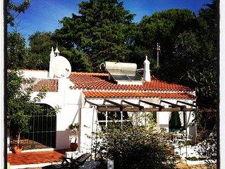 Vivenda entre a serra e o mar, com piscina e Jardim Mediterrânico