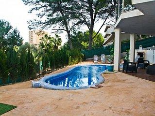 Villa with pool close of Magalluf