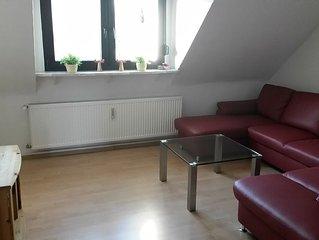 Ruhig, zentral, komfortabel: 3Zi-KDB mitten im Ruhrgebiet nähe Centro