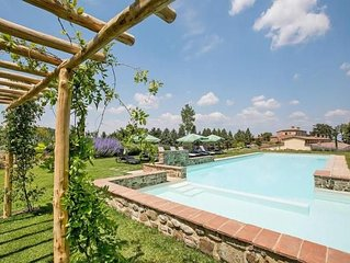 Holiday resort Podere Cignella, Trequanda  in Montepulciano - 6 persons, 3 bedr