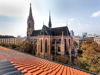 Vienna Calling - bright, modern, nice view, central location - with Aircondition