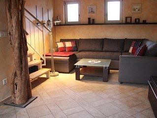 Ferienhaus 'Strandhafer'mit Kamin in ruhiger, idyllischer Lage.100m zum Strand!