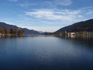 FeWo mit Loggia/Ossiacher See * Badestrand/Liegewiese * Pool * mitten in Karnten