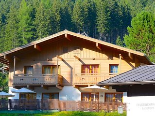 Chalet Marille - a beautiful chalet, located close to skibus station and golfco