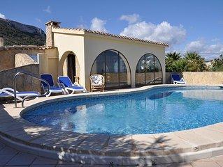 Freistehende, klimatisierte Villa von privat am Montgo in Denia
