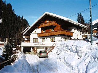Apartment Haus Sabrina  in See, Paznaun Valley - 9 persons, 4 bedrooms