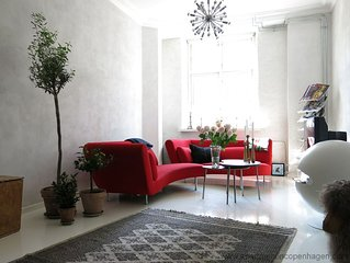 City Apartment in Kopenhagen mit 2 Schlafzimmern 4 Schlafplatzen