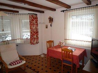 Ferienwohnung 1 mit 68qm, 1 Schlafzimmer, 1 Wohn-/Schlafraum, für maximal 4 Per